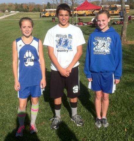 Maranda Pierson, Ethan Jenkins, and Olivia Neighbors-state qualifiers.