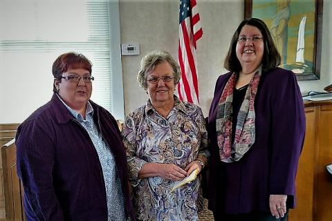 Phyllis Tate, Diana Ray, and Elaine Daugherty