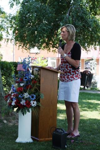 Keynote speaker Lynda Tryee.