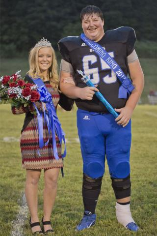 Hannah Renfrow and Connor Reed
