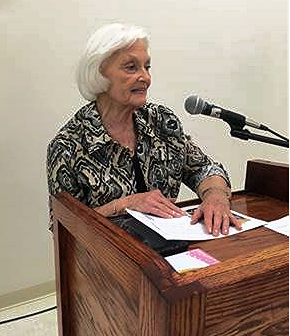 Betty Farris at Butler County Rural Development in 2017
