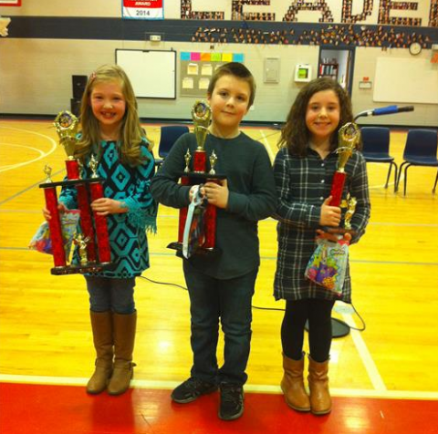 Lily Glass, Camden Wilson, and Chloe Cardwell