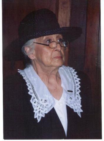 Joyce in her portrayal of Methodist leader Susannah Wesley.