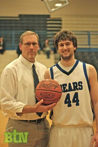 Trevor Jenkins joins the 1,000 point club.