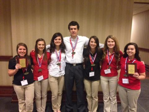 1st place:  Senior Parliamentary Procedure Team