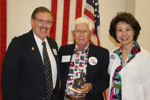 Rep. C.B. Embry, Jr., Republican of the Year Charlie Hutcheson, Elaine Chao, Former Sec. of Labor