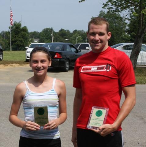Hannah Perry and Jordan Green