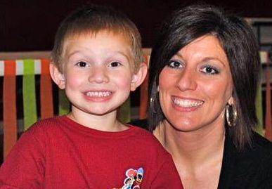 Tiffany Hampton and son Tucker