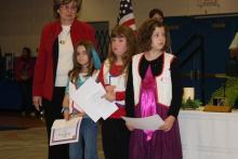Rylee Hobbs, Beth Ann Rose, and Emily Tyree
