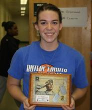 Madeline Drake named MVP of game.