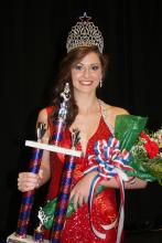 2015 Miss Butler County Catfish Hannah Beth Perry