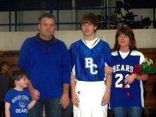 Nolan Johnson, son of Dan and Michaelle Johnson