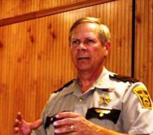 Former BC Sheriff Joe Gaddie (file photo)