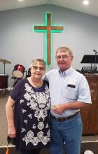 Pastor Ruth and husband Neal Morgan