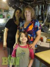 Three generations of family: Gaylene and Addison Jones with Rita Lindsey