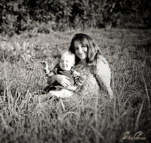 Natalie and her daughter Sabria